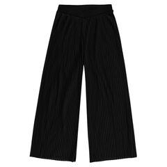 Junior - Pantalon large plissé
