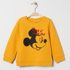 Sweat en molleton fantaisie print Mickey Disney