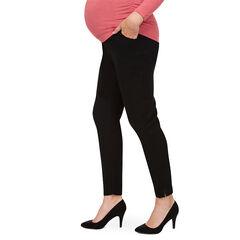 Pantalon de grossesse coupe slim avec bandeau haut