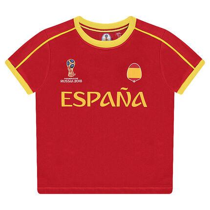Tee-shirt manches courtes COUPE DU MONDE DE FOOTBALL 2018 - ESPAGNE