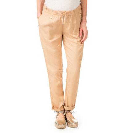 Pantalon de grossesse en tencel coupe ample