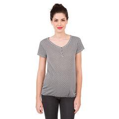 Tee-shirt manches courtes de grossesse à motif