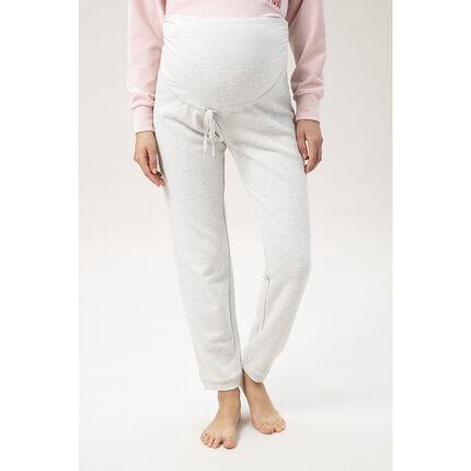 Pantalon de jogging de grossesse avec bandeau haut