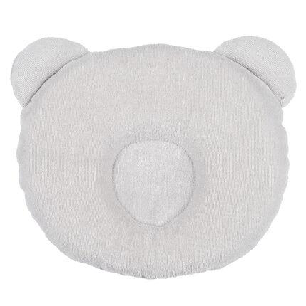 Coussin P'tit Panda - Gris