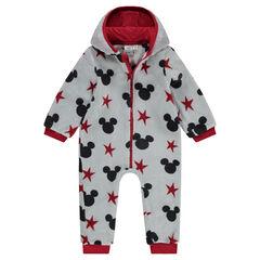Surpyjama en sherpa à capuche avec oreilles cousues Disney Mickey