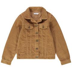 Junior - Veste en velours côtelé à poches