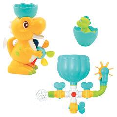 Coffret de bain Dinosaure à ventouses 10+ mos , Ludi