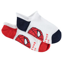Lot de 2 paires de chaussettes courtes ©Marvel Spiderman