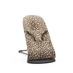 Transat Bliss en coton - Beige/Léopard , Babybjörn