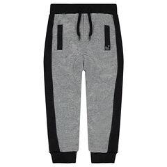 Junior - Pantalon de jogging en molleton twisté