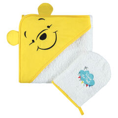 Set de bain en éponge brodé Disney Winnie l'ourson
