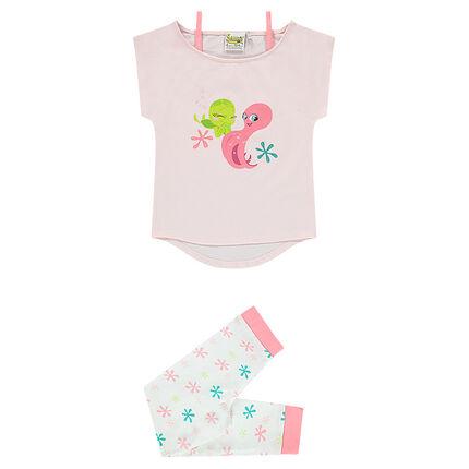 Pyjama tee-shirt et legging Sammy & Co