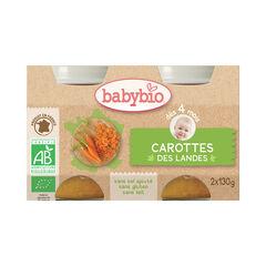 Petit pot carotte bio des Landes - 2x130g