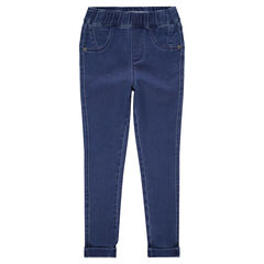 Junior - Jegging effet used coupe skinny