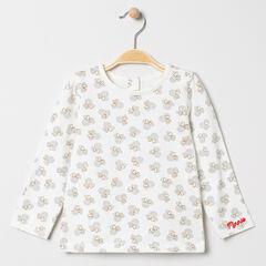 T-shirt manches longues imprimé Minnie Disney all-over