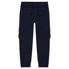 Pantalon de jogging en molleton à poches