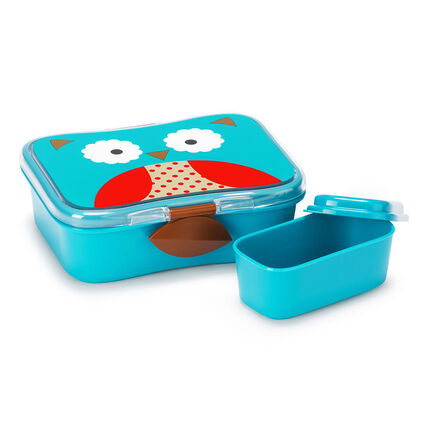 Kit Lunch box Collection Zoo - Hiboux