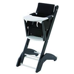 Chaise haute 21 Evo – Noir/blanc
