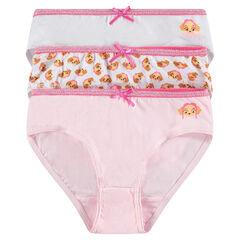 Lot de 3 culottes en coton print Stella Pat Patrouille: Nickelodeon™