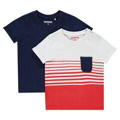 c8660282c9400 T-shirt bébé garçon - t-shirt anti-uv de 0 à 23 mois
