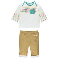 Ensemble tee-shirt et pantalon