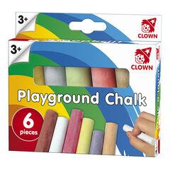 Boîte de 6 craies multicolores