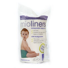 Lot de 160 voiles de protection biodégradables Mioliners - Blanc