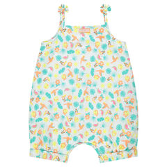 Combishort à motif tropical all-over ©Smiley