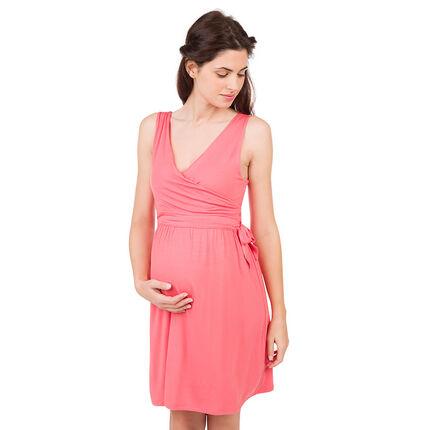 Robe sans manches de grossesse et d'allaitement