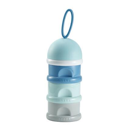 Boîte doseuse de lait empilable - Bleu