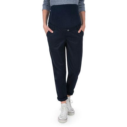 Pantalon de grossesse coupe loose avec beandeau haut