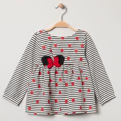 Tunique à rayures et pois Minnie Disney