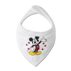 Set de 2 bavoir en jersey Disney print Mickey