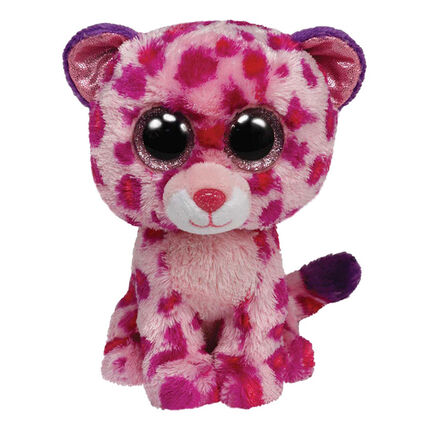 Peluche small 1er age Glamour le Leopard
