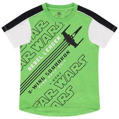 T-shirt manches courtes à inscriptions Star Wars