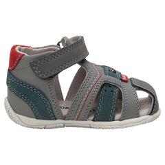 cfc5cffa5d8b9 chaussures premiers pas - chaussures bébé garçon de marche - Orchestra