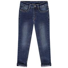 Jean slim effet used et crinkle