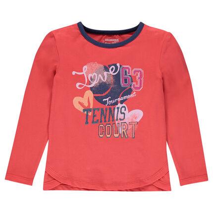 Junior - Tee-shirt manches longues print fantaisie