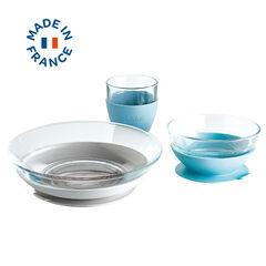 TOYANDONA 4 Pcs Enfants Vaisselle Ensemble Vaisselle Kit Repas Repas Ensemble Enfants Couverts pour Enfants en Bas /Âge /à Lint/érieur de La Maison