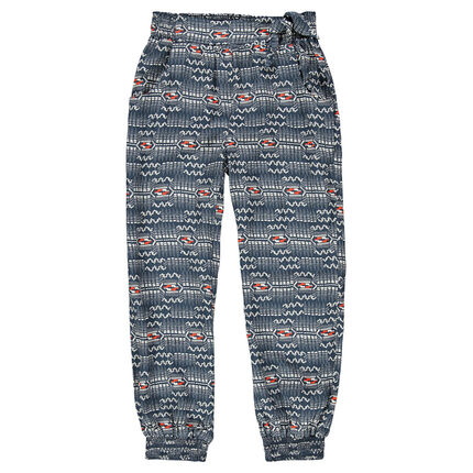 Junior - Pantalon fluide imprimé fantaisie