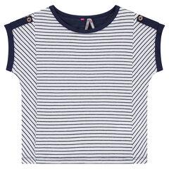 Tee-shirt manches courtes en jersey