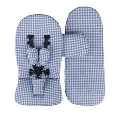 Starter pack pour poussette Xari - Bleu retro