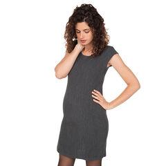 Robe de grossesse sans manches en milano