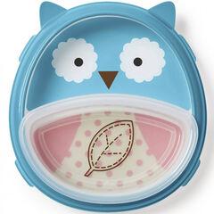 Pack vaisselle Zoo Smart Serve - Hibou