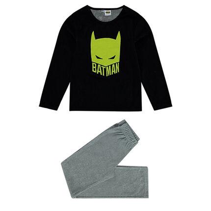 Junior - Pyjama en velours bicolore print ©Warner Batman