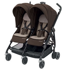Poussette canne double Dana for 2 - Earth brown