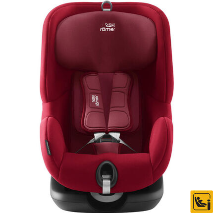 si ge auto isofix trifix i size groupe 1 flame red orchestra fr. Black Bedroom Furniture Sets. Home Design Ideas