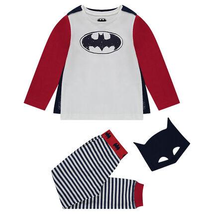 Pyjama déguisement ©Warner Batman avec masque inclus