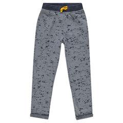 Junior - Pantalon de jogging en molleton dévoré