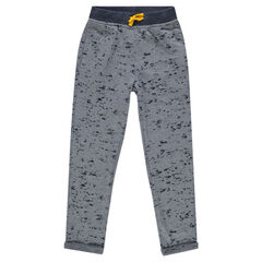Junior - Pantalon de jogging en molleton dévoré